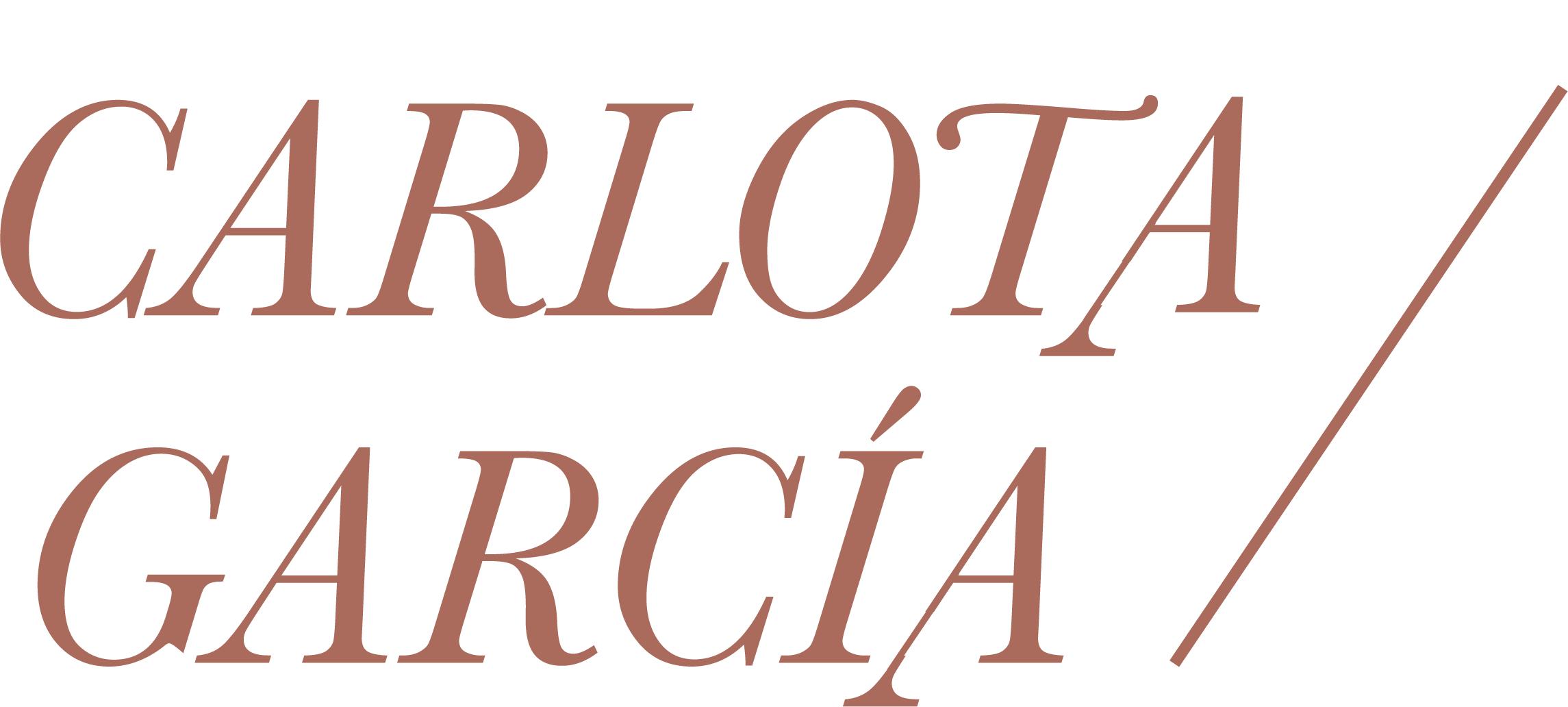 Carlota García Logo